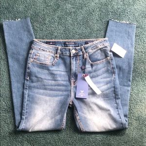 NWT Vigoss Jeans Size 28 Ace Skinny High Rise